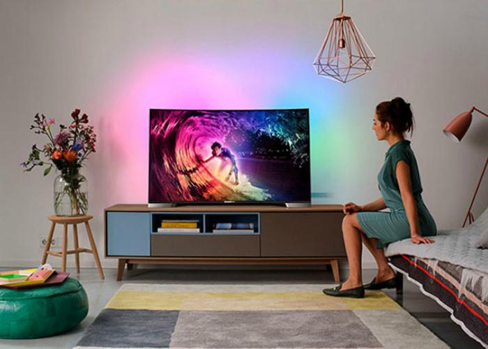 Многофункциональный 3D телевизор от компании Philips.