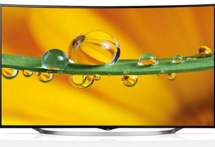 Многофункциональный телевизор с изогнутым экраном LG 65UC970V от компании LG.