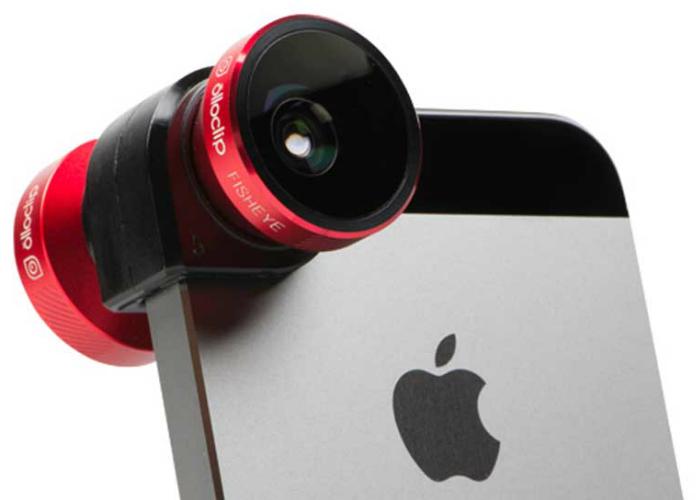 Оригинальный способ превратить iPhone в фотоаппарат.