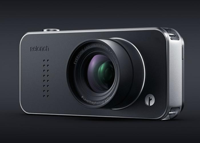 Чехол Relonch Camera превратит iPhone в портативную камеру.