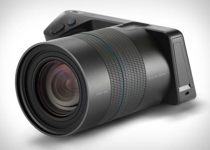 Новая фотокамера светового поля.