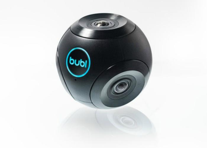 Первый концепт сферической видеокамеры.