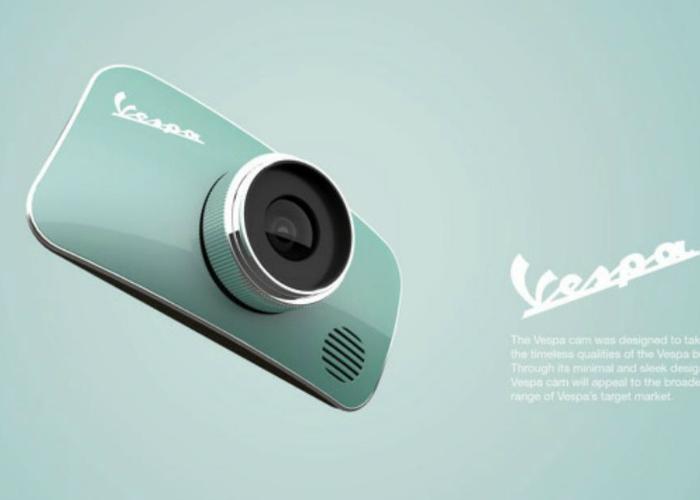Классическая камера с оригинальным дизайном.