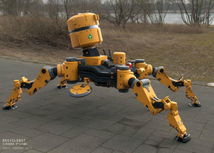 Recycle Bot или Робот-уборщик — это автоматизированный уборщик, который будет, скорее всего, отныне содержать в чистоте парки и улицы города. Этот «сотрудник коммунальных служб»  работает в течение ночных часов, очищая от мусора тротуары и газоны, собирая его в специальные ёмкости.