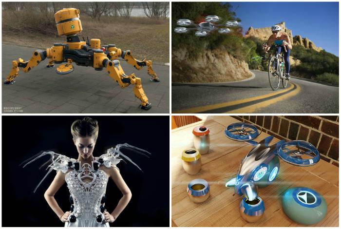 Мировые новинки роботизированной техники.