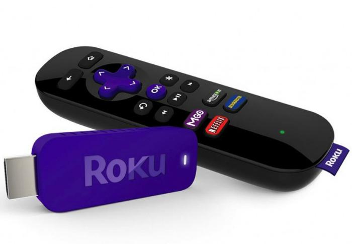 Удобный в использовании, функциональный медиаплеер - Roku Streaming Stick.