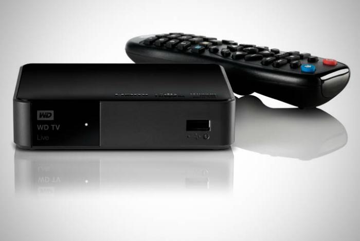 Функциональный необычный девайс для потоковой трансляции контента - Western Digital TV Live.