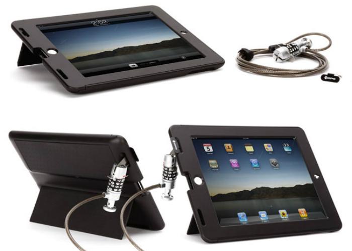 Чехол для iPad с кодовым замком от кражи Griffin Tech Safe Lock Case.