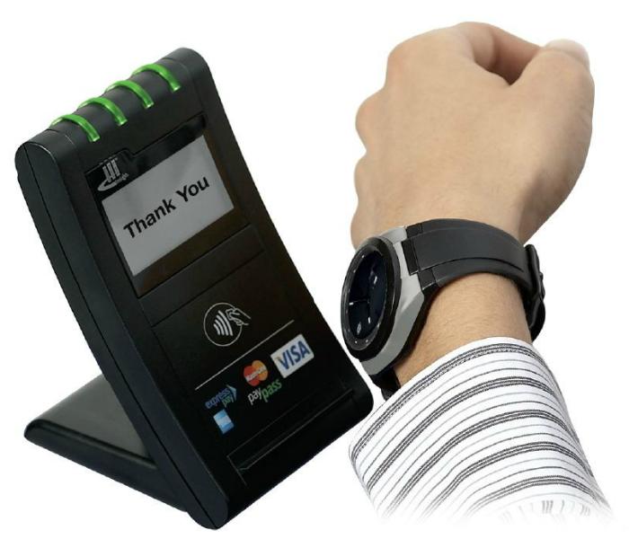 Функциональные часы - Watch2Pay от австрийской компании LAKS.
