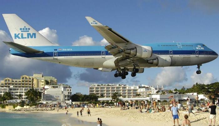 Аэропорт Princess Juliana St. Maarten.