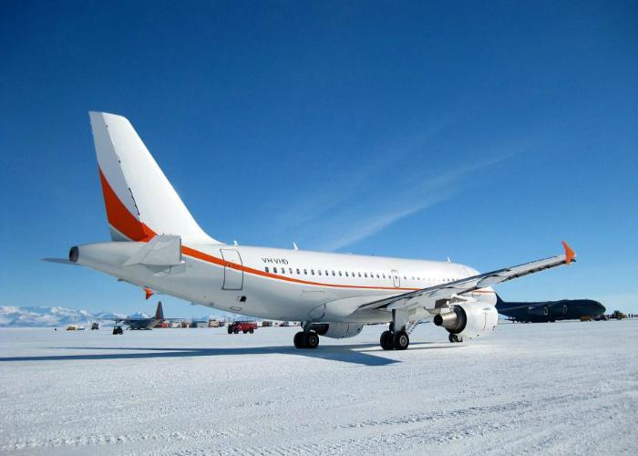 Аэропорт Ice Runway, Антарктика.