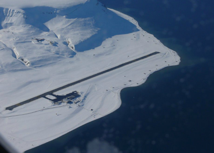 Аэропорт Longyear, Свальбард.