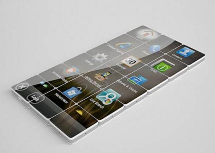 Стильный модульный смартфон - Mobikoma от дизайнера Камиля Израилова.