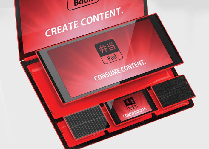 Функциональный модульный гаджет - Bento от американского дизайнера Рене Ли.