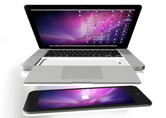 Оригинальный девайс - MacBook Pro с встроенным пультом - iRemote от известного дизайнера Энрико Пенелло.