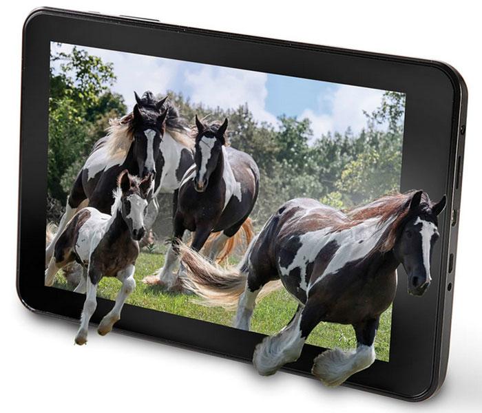 Первый в мире 3D планшет - Hammacher The No Glasses 3D Tablet.
