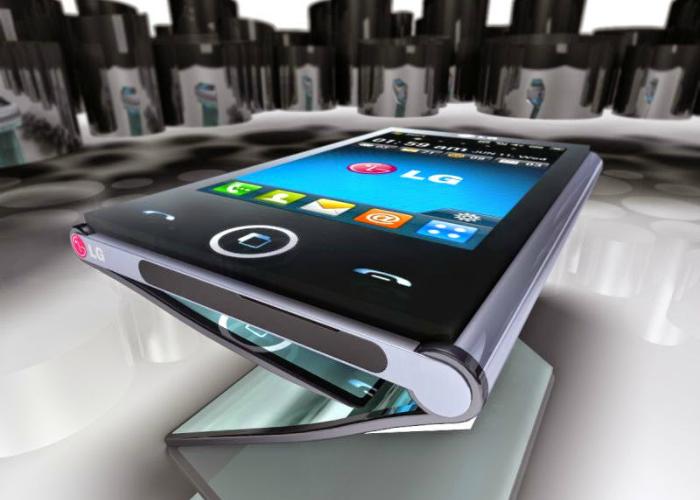 Необычное устройство 2 в 1 смартфон превращающийся в планшет - LG Triptych.