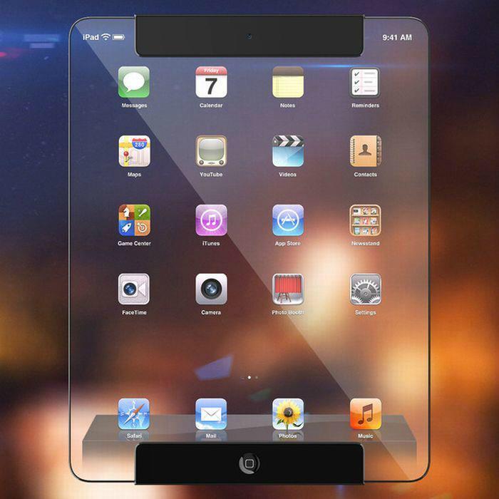 Уникальный iPad будущего от дизайнера Рикардо Афонса.