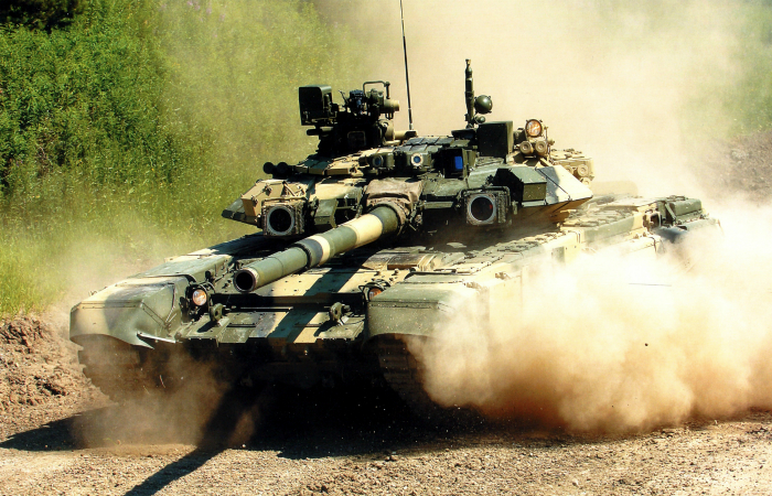Самые лучшие модели боевых танков всего мира.