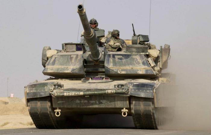 Основной танк армии Соединенных Штатов Америки под названием - M1 Abrams.