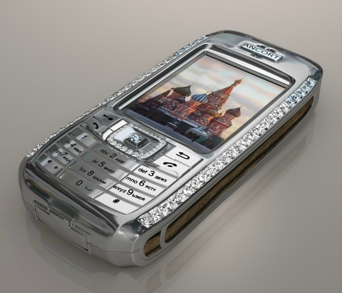 Приобрести JSC Ancort's Diamond Crypto Smart Phone можно по цене 1.3 миллиона долларов США.