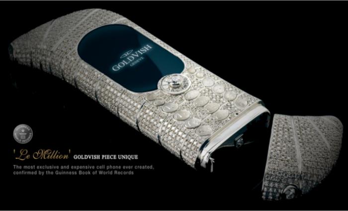 Приобрести Goldvish Le Million можно по цене в 1.2 миллиона долларов США.