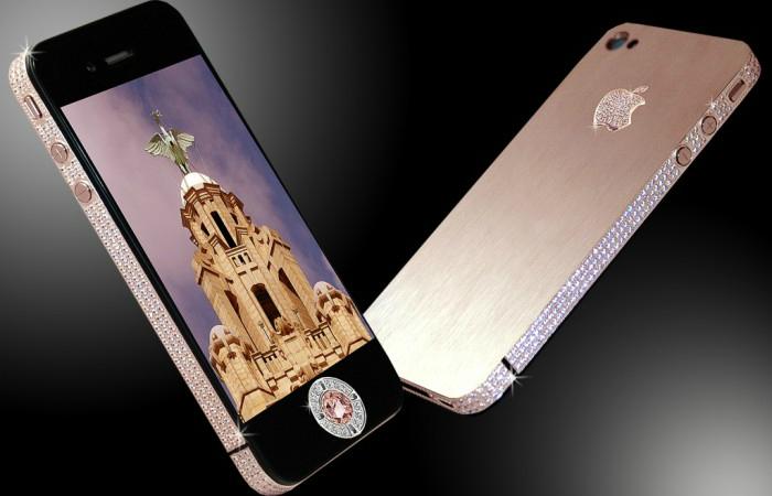 Приобрести Stuart Hughes' iPhone Diamond Rose Edition можно по цене в 8 миллионов долларов США.