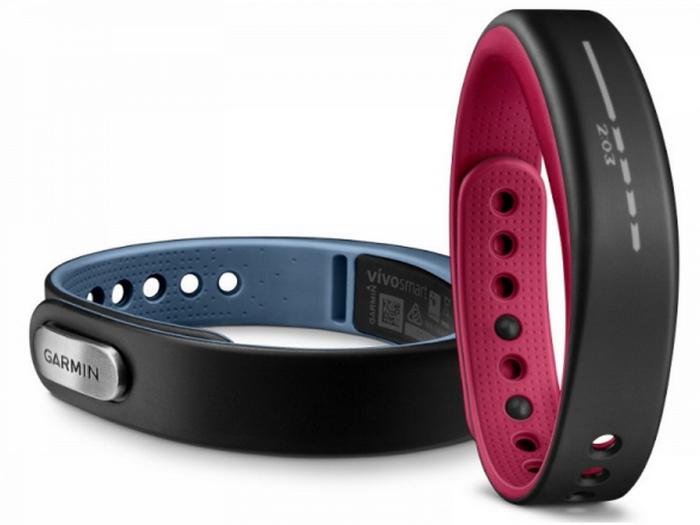 Стильный фитнес-браслет - Vivosmart от компании Garmin.
