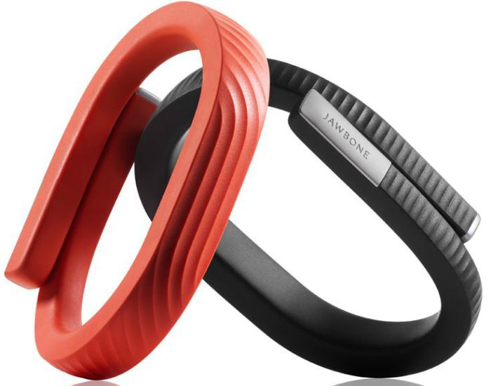 Современный и функциональный браслет-трекер - Jawbone UP 24 Persimmon.
