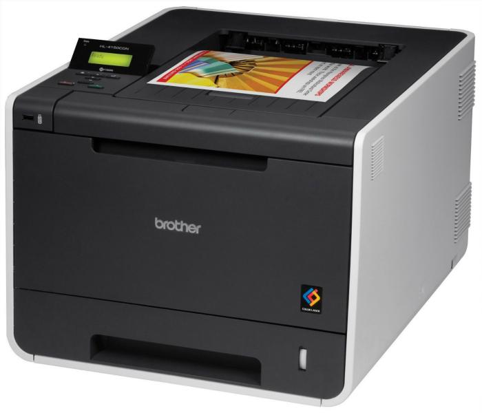 Экономичный принтер под названием - Brother HL-4150CDN.