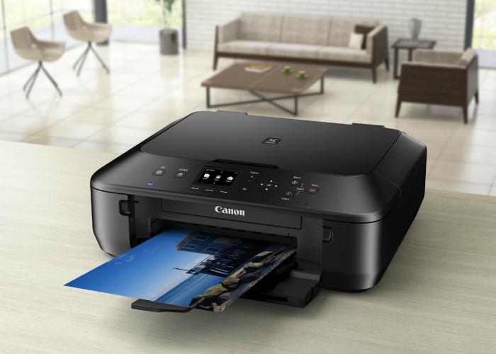 Многофункциональный принтер под названием - CANON PIXMA MG7550.