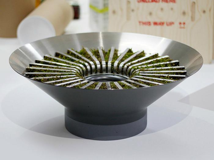 Естественный увлажнитель воздуха - Hybrid Humidifier от корейского дизайнера Джи-Хйа Во.