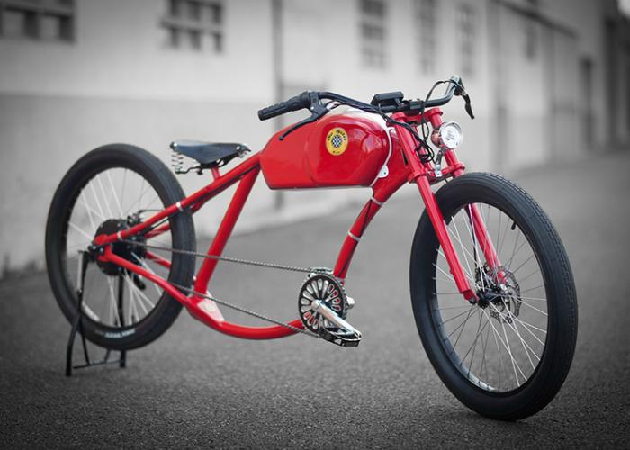 Необычный электровелосипед - Oto Cycles.