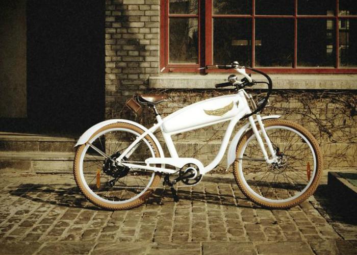Функциональный электро-ретро-велосипед - Ariel Rider.