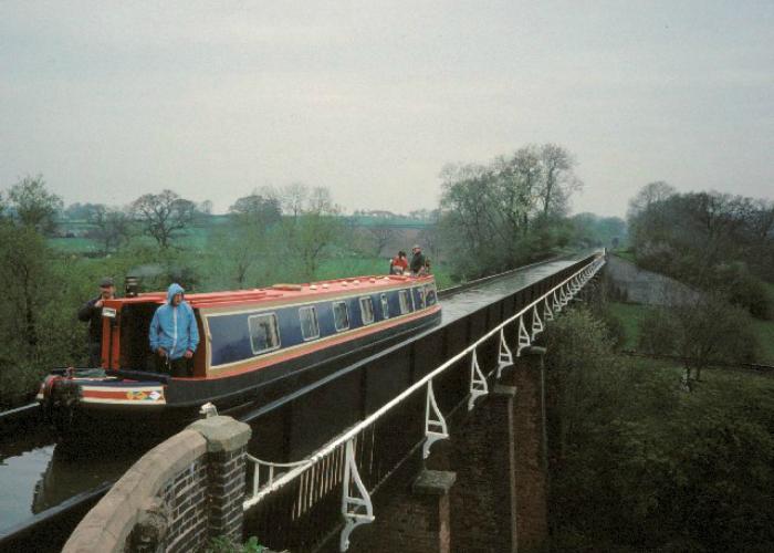 Акведук Edstone, Великобритания.