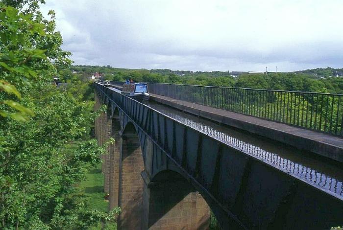 Акведук Понткисиллте, Великобритания.