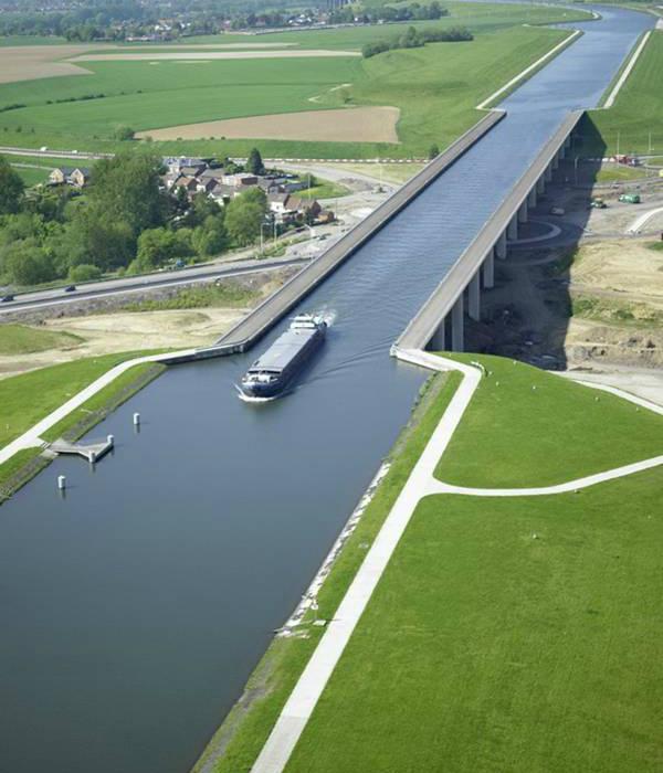 Акведук Pont du Sart, Бельгия.