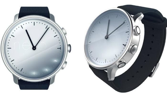 Водонепроницаемые часы с минималистичным дизайном - Nеvo.
