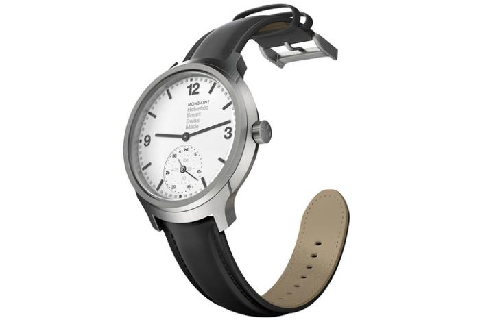 Практичные часы -  Helvetica No 1 Horological Smartwatch от компании Mondaine.