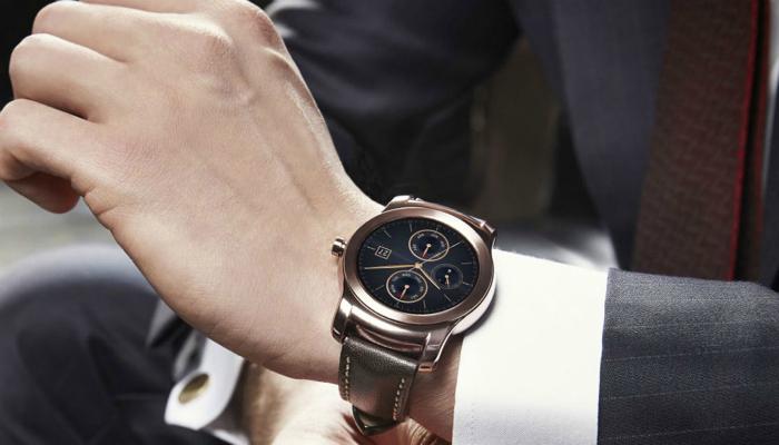 Многоцелевые элегантные наручные часы под названием - LG Watch Urbane.