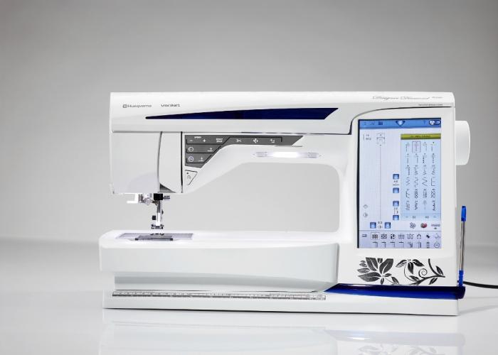 Элитная швейная машинка под названием - Husqvarna Viking Designer Diamond Royale.