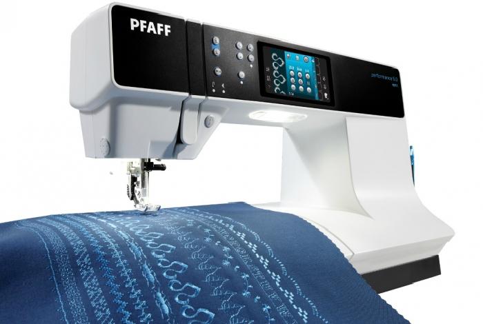Электронная швейная машинка под названием - PFAFF Performance 5.0.