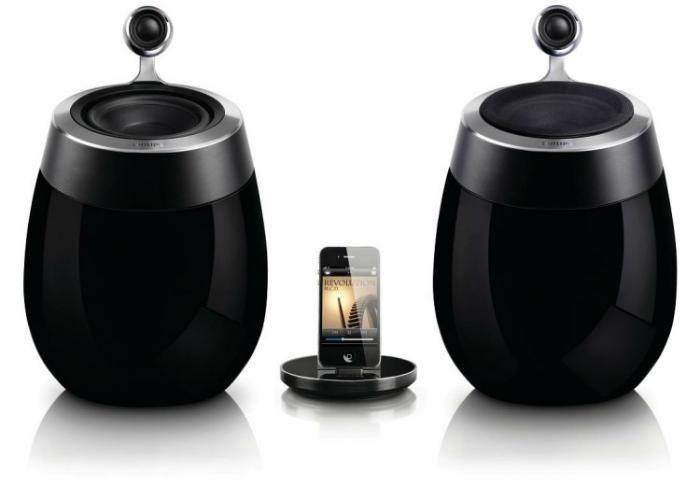 Новая акустическая система с качественным звучанием от компании Philips.