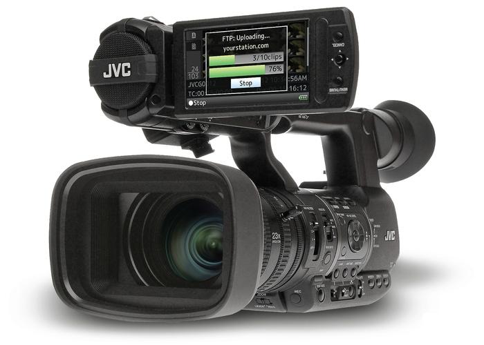 Профессиональная видеокамера от компании JVC Professional Europe Ltd.