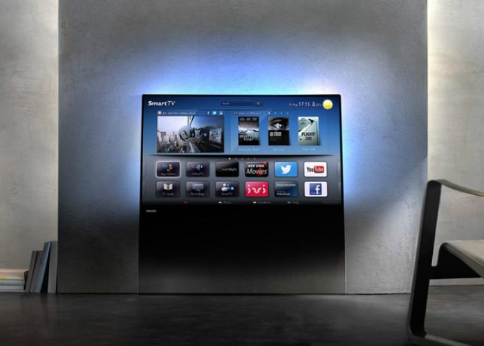 Телевизор будущего от компании TP Vision.