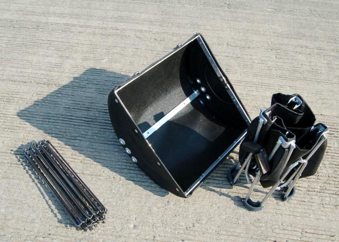 Удобный в использовании силиконовый гриль для туристов - GoBQ.