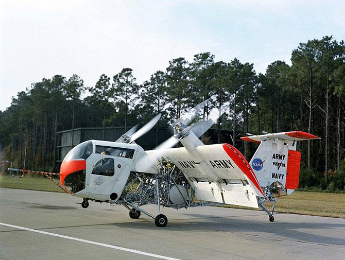 Функциональное воздушное судно под названием - Boeing Vertol VZ-2.