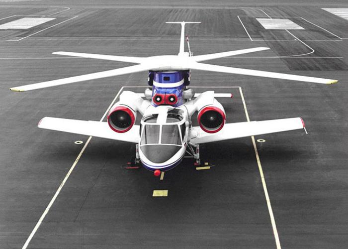 Экспериментальный экземпляр вертолета под названием - Сикорский S-72.