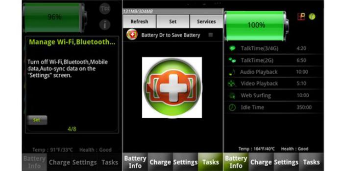 Универсальное мобильное приложение для оптимизации работы смартфона под названием - Battery Dr. Saver