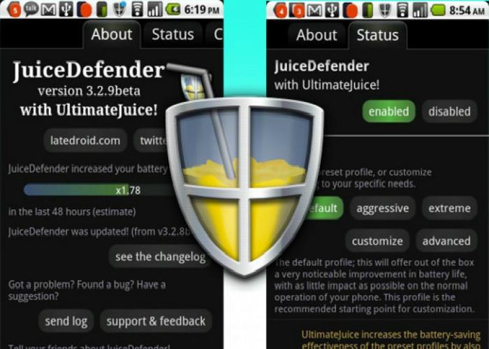 Удобное приложение для оптимизации работы телефона - под названием JuiceDefender.